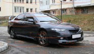 Пороги mugen для honda accord 2006-08